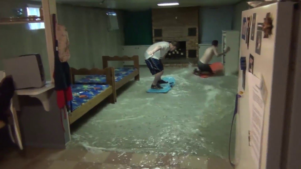Delightful Basement Flooding What To Do Part - 3: Flooded Basement Fun - YouTube