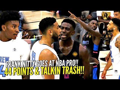 Frank Nitty DESTROYS NBA PLAYER!! Drops 44 Points On HIM & Talkin TRASH! w/ Isaiah Thomas Watching!!