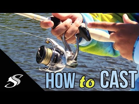 How to Use A Spinning Reel | Fishing Casting Techniques