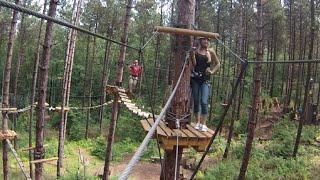 Tree trekking Ganaraska forest Tarzan