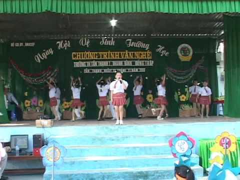 Ngày Hội vệ sinh trường học Tân Thạnh 1 ( phần Văn Nghệ ) Thanh Bình