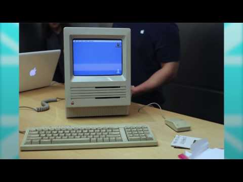Apple get a 30 year old Mac SE Running
