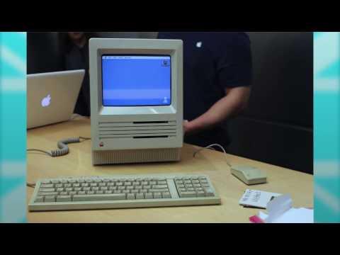 Lleva un Macintosh SE de 1987 a la Genius Bar de una Apple Store