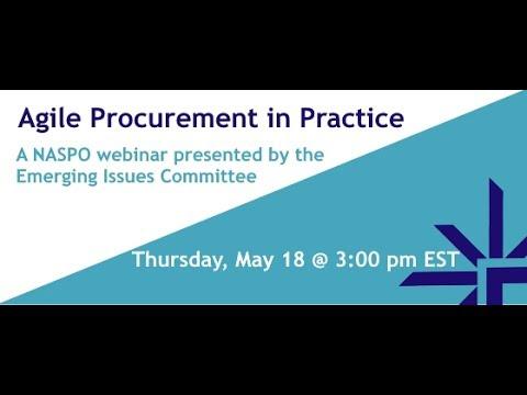 Agile Procurement in Practice Webinar