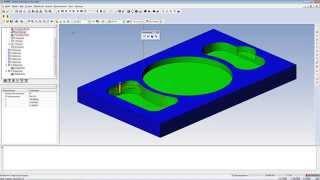 Автоматическое создание траектории обработки для ЧПУ в КОМПАС-3D