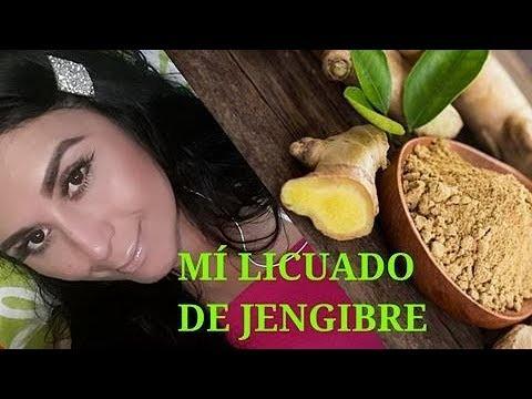 LICUADO DE JENGIBRE CAÍDA EXAJERADA DE CABELLO Y CRECIMIENTO EN DIAS