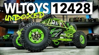 wLTOYS 12428 Rock Racer 4WD Unboxing