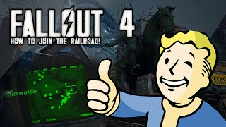 fallout 4 easy freedom trial quest how to find join railroad faction railroad location fo4