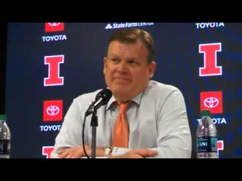 Illini & East Tennessee State postgame press conference