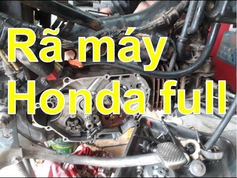 Sửa Xe Cùi Bắp_Hướng Dẫn Rã Máy Xe Honda Phổ Thông ( Full )