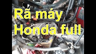 Hướng dẫn rã máy xe honda phổ thông ( full )