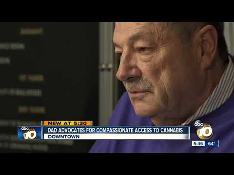 San Diego Dad Advocates For Compassionate Access To Cannabis