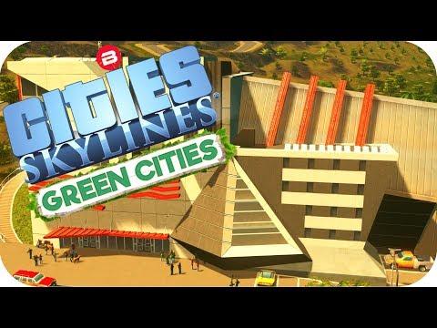 Cities: Skylines Green Cities ▶GREEN CREATIVE INSTITUTE◀ Cities Skylines Green Cities DLC Part 2