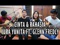 Cinta Dan Rahasia - Glenn Ft Yura  By Nadia & Yoseph NY Cover Ft Dimas Titis & Abraham Fauz
