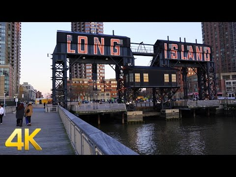 Long Island City, Queens in 4K