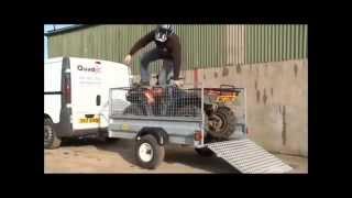 q12 7x4 general purpose trailer