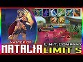 Limit.Company Updated build Mobile legends Natalia Gameplay