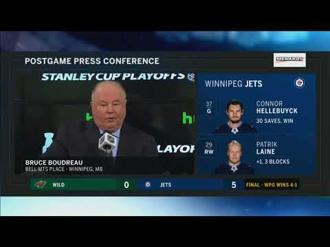 Head coach Bruce Boudreau: Wild were rattled early