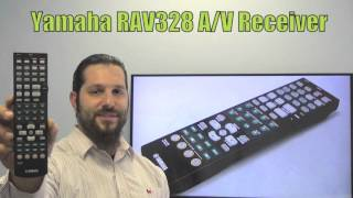 YAMAHA RAV328 Audio/Video Receiver Remote Control  - www.ReplacementRemotes.com