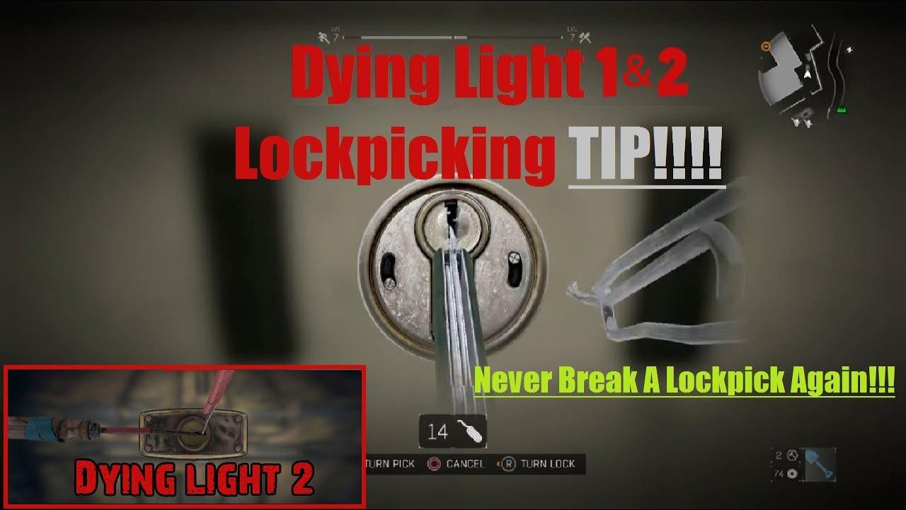Dying Light Lock Picking Tips Tutorial Guide Unlock