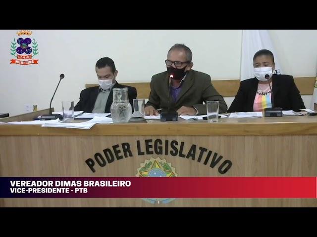 Câmara Municipal de Vereadores de Itacarambi MG Reunião realizada no dia 19/05/2021
