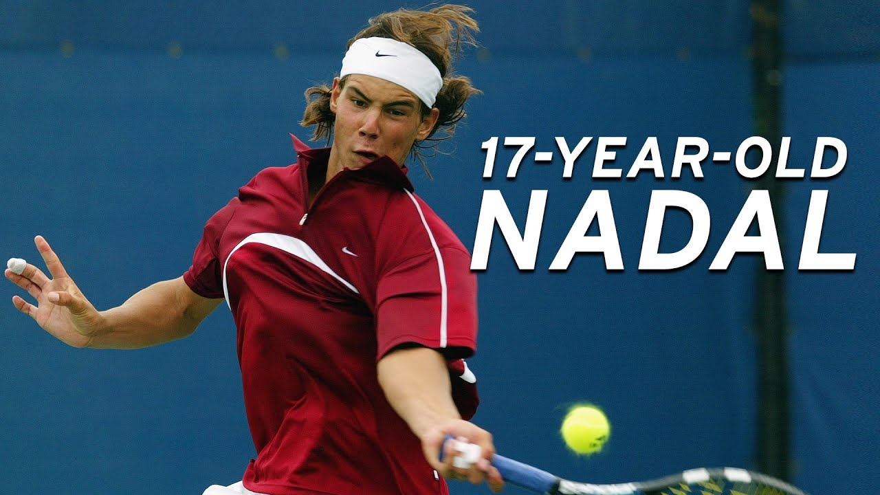 Rafael Nadal vs Younes El Aynaoui in his first televised US Open match! | US Open 2003 Round 2