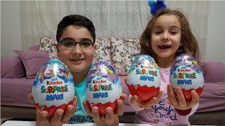 Küçük Kinder Sürpriz Yumurtaları Büyüdü