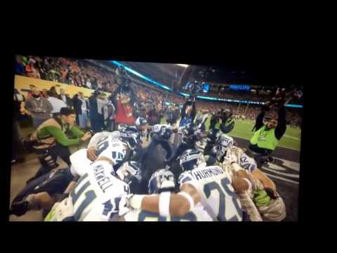 Earl Thomas Super Bowl Pre-game speech