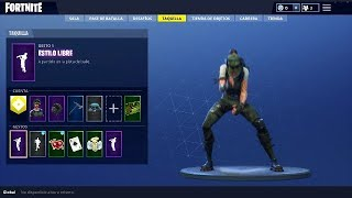NEW FREE SKIN TWITCH PRIME BAILE STYLE FREE ? TRAJE ? SOFTENING PICO ? FORTNITE