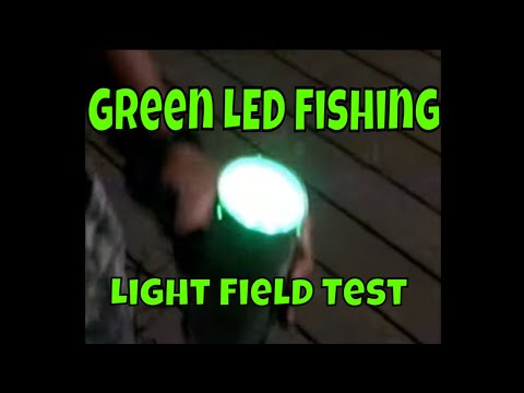 homemade green led fishing light field test - youtube, Reel Combo