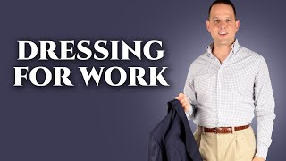 What To Wear To The Office - Professional Outfit Tips when Dressing For Work