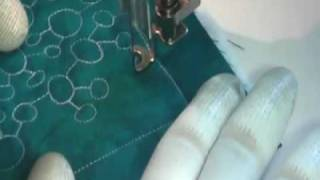 Free Motion Quilting Video: H2O