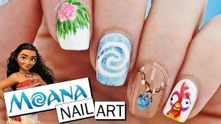 "DISNEY ""MOANA"" NAIL ART TUTORIAL | 5 different designs | Nailed It NZ"
