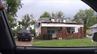 Norman Oklahoma April 13 2012 Tornado Damage
