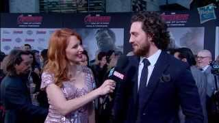 Aaron Taylor-Johnson Discusses Playing Quicksilver