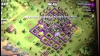 Clash of Clans 1 pekka with 5 Healers and 11 Hog Riders!