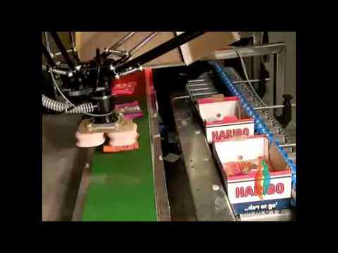 Primary & Secondary Food Packaging with OMRON Adept Robotics