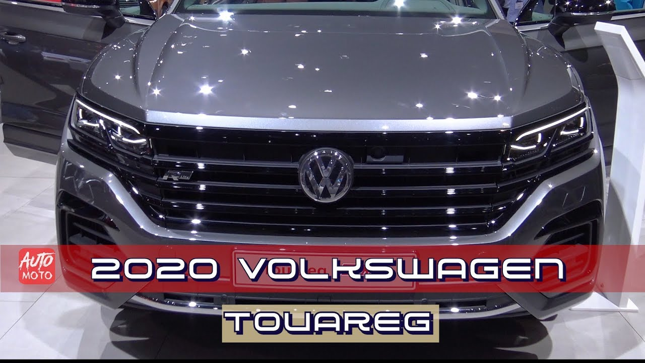 2020 VW Touareg: New Engines, Design, Release >> 2020 Volkswagen Touareg R Line 4 0 Tdi 422hp Exterior Interior Debut At Geneva Motor Show 2019