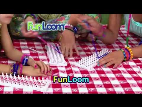 As Seen On TV - Fun Loom  -  Direct Response Infomercial - 2013