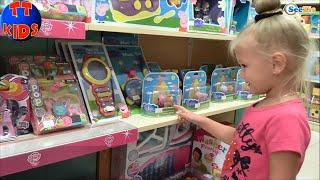 ✔ Baby Alive Doll with Yaroslava goes shopping Real Surprises. Кукла и Ярослава в магазине. Серия 50