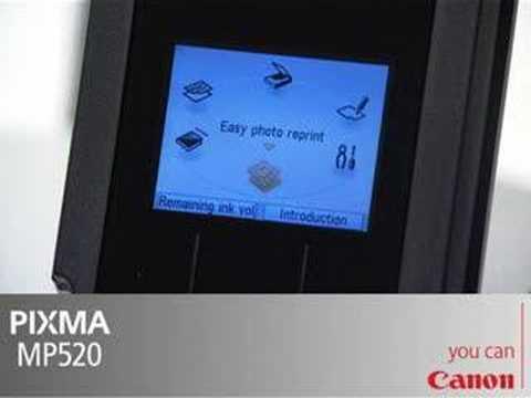 CANON PIXMA MP520 MP Printer Linux