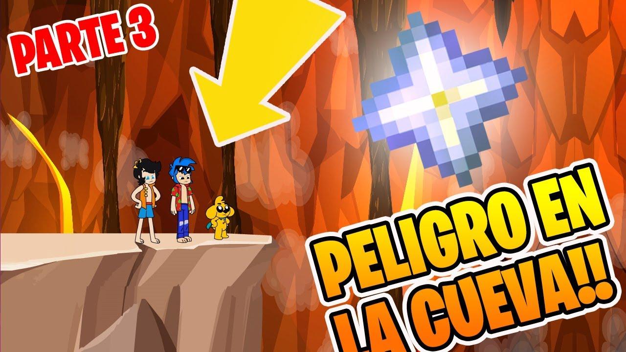 PELIGRO DENTRO DE LA CUEVA!! - ¡MIKECRACK Y LA ESTRELLA MALDITA! (PARTE 3) (Version Animada)⭐