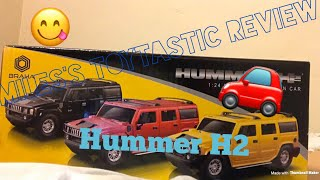 Unboxing New Hummer H2 toy car | Miles's toytastic reviews