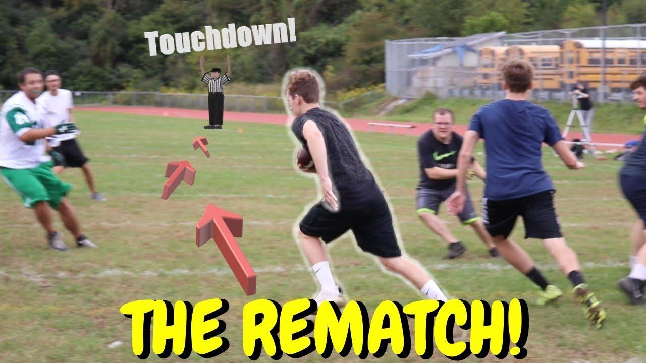Best Backyard Football the best backyard football game ever!! 5v5! *no pads* - youtube