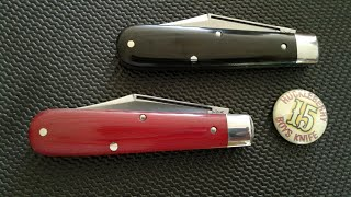 TheWalk&Talk #15 | GEC #15 Tidioute Cutlery Boy's Knife × 2 / Clip Point / I'm A Sucker For Red! ❤