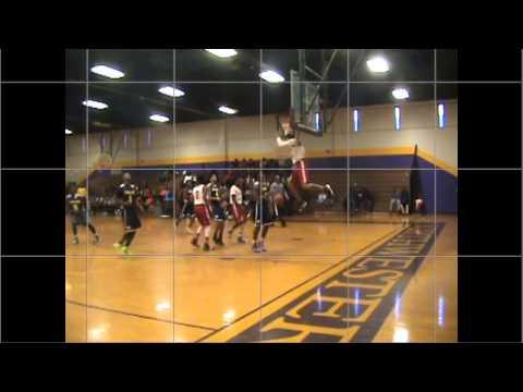 Malik Constantine Olympic High School Scrimmage 2014 Highlights