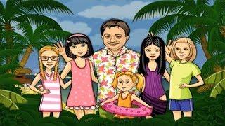 ПАПИНЫ ДОЧКИ 2 #7 Наконец-то МОРЕ! Последняя серия Детское видео Обучающая игра Let's play