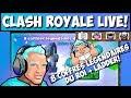 🔴 Clash Royale - LIVE NOUVEAUX EMOTES GRATUITS + 8 COFFRES LEGENDAIRES DU ROI 🔥🔥🔥