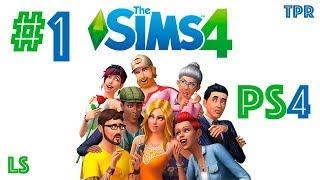 sims 4 - Обзор на PS4  Создаем персонажа  Флиртуем с парнем, а он убежал!!! - #1