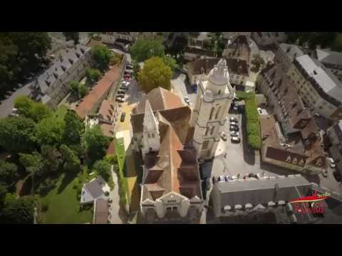 L'église St Pierre de Senlis vue par drone